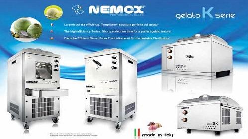 Nuova serie K nemox macchine da gelato