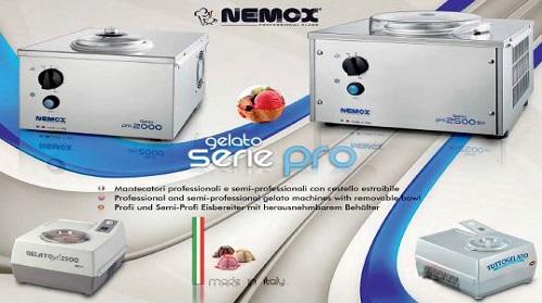 Nuova serie PRO macchine da gelato Nemox