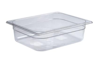 Gastronorme 1/2 325 × 265 mm en Tritan