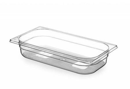 Gastronorme 1/3 325 × 176 mm en Tritan