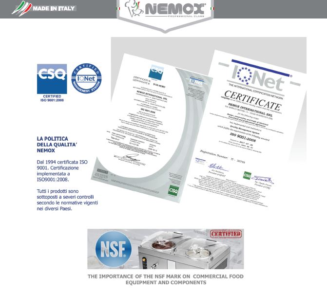 Certificazioni-Nemox