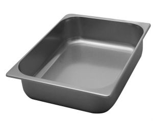 VG362580 Ice cream bowl in stainless steel 360x250x h80 mm