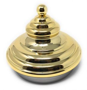 PIRAMLID-G airtight lid for carapine BRASS PYRAMID