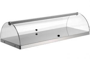 VET6015 - Vitrine neutre - 1 étage dim. 80X35X20