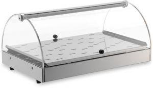 VET7010 - Vitrine chauffante - 1 étage dim.  50X35X25