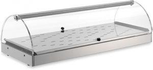 VET7015 - vitrina con calefacción - 1 piso dim. 80X35X25