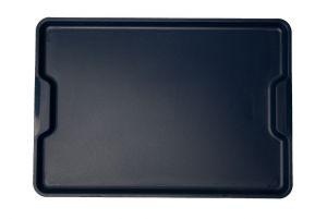 GEN-100903 Plateau en polypropylène - Collection ergonomique - Euronorm - Dimensions extérieures 53x37 cm