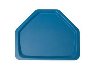 GEN-102001 Plateau en polypropylène - Collection Classique - Trapèze Fast Food - Dimensions extérieures 41,5x32,5 cm