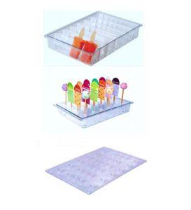 ITP806 Porte-bâton + porte-bâton vertical en polycarbonate pour vitrines à glace