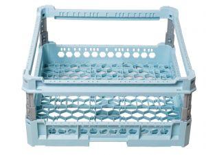 GEN-100107 BASE PANIER GRILLE MAILLE AVEC LEVAGE h 240mm