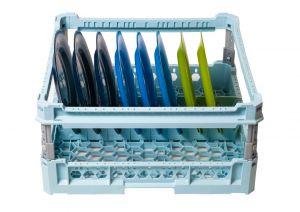 GEN-100108p Panier spécial pour 8 plats avec cadre de protection