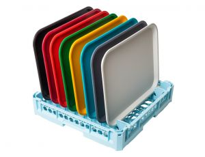 GEN-100125 Basket for washing 8 trays model Mensa