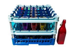 GEN-100137 Panier spécial pour laver 25 bouteilles d'eau 100cl