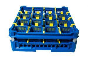 GEN-100145 Cesta para lavar cubiertos con 16 cestas de cubiertos