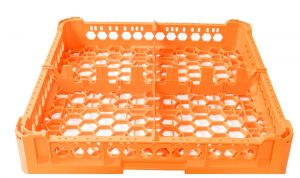 GEN-K12x2 CLASSIC BASKET 4 SQUARE COMPARTMENTS - Glass height 65mm