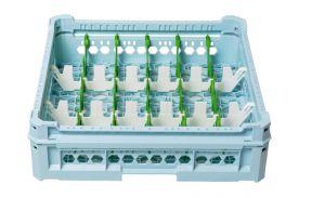 GEN-K13x6 CLASSIC BASKET 18 RECTANGULAR COMPARTMENTS - GLASS HEIGHT 65mm