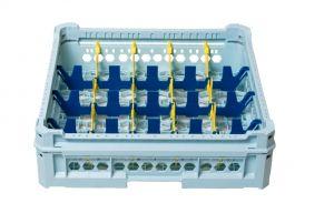 GEN-K14x5 CLASSIC BASKET 20 RECTANGULAR COMPARTMENTS - Glass height 65mm