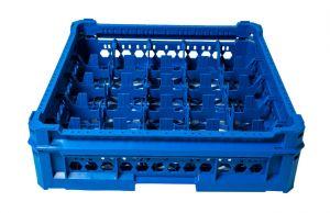 CESTA CLÁSICA GEN-K25x5 25 COMPARTIMIENTOS CUADRADOS - Altura de vidrio de 65 mm a 120 mm
