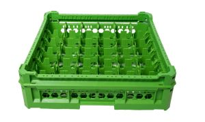 GEN-K26x6 CLASSIC BASKET 36 SQUARE COMPARTMENTS - Glass height from 65mm to 120mm