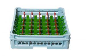 GEN-K26x7 PANIER CLASSIQUE 42 COMPARTIMENTS RECTANGULAIRES - Hauteur de tasse de 65 mm à 120 mm