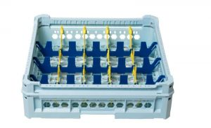GEN-K34x5  PANIER CLASSIQUE 20 COMPARTIMENTS RECTANGULAIRES - Hauteur de tasse de 120 mm à 240 mm