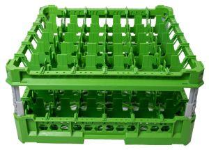 CESTA CLÁSICA GEN-K36x6 36 COMPARTIMIENTOS CUADRADOS - Altura de copa de 120 mm a 240 mm