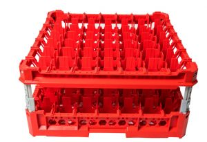 GEN-K37x7 CLASSIC BASKET 49 SQUARE COMPARTMENTS - Tumbler height from 120m to 240mm