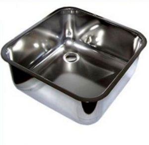 LV45/45/20 Vasca di lavaggio in acciaio inox dim. 450x450x200h a saldare