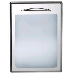 ICSPV60-DX Sportello a vetro singolo con apertura verso destra  guarnizione magnetica intercambiabile