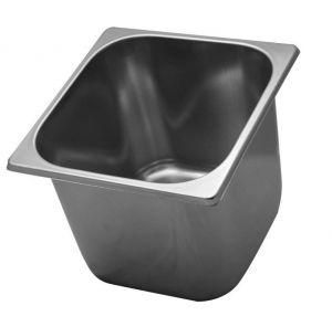 VG161612 Ice cream fruit bowl in stainless steel 165x165x h120 mm
