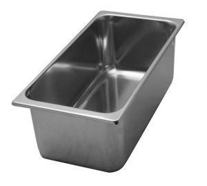 VG331615 Stainless steel ice cream tray 330x165x h150 mm