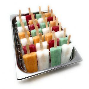Grid fournit la clé de la crème glacée à l'acier inoxydable 360x250 mm