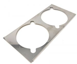 VGCV-GESUP Stainless steel support for 2 mini carapine