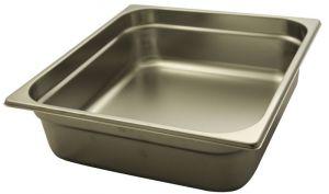 GST2/3P100 Contenitore Gastronorm 2/3 h100 in acciaio inox AISI 304