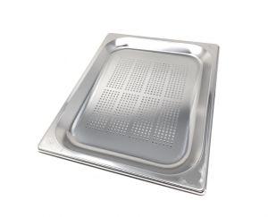GST1/2P020F contenedores Gastronorm 1 / 2 h20 perforada acero inoxidable AISI 304