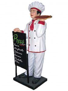 ER005C Pizzaiolo Pizza maker outdoor three-dimensional high high 140 cm