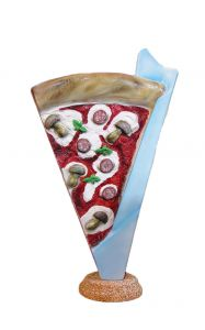 SR032A Spicchio di Pizza - 3D advertising segment for pizzeria, height 180 cm