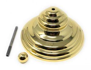 KIT-PIRAM-G DORATO kit couvercle décoratif pyramidal (couvercle hermétique exclu)