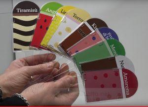 ITP382-  Kit 25 palette segnagusti in plexiglass ad immersione per vaschette gelato