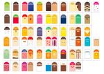 ITP384 Marker set for pallet markers - 68 flavors + 5 neutral