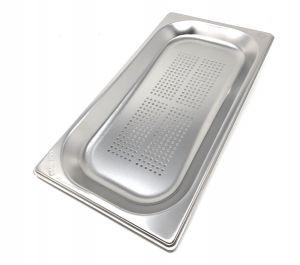 GST1 / 3P020F Recipiente Gastronorm 1/3 h20 perforado en acero inoxidable AISI 304